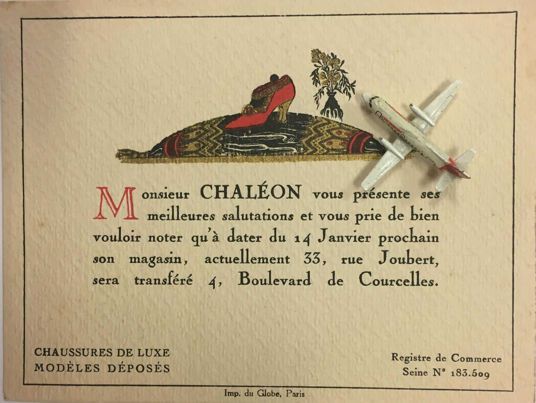 CHALON Chaussures De Luxe Paris