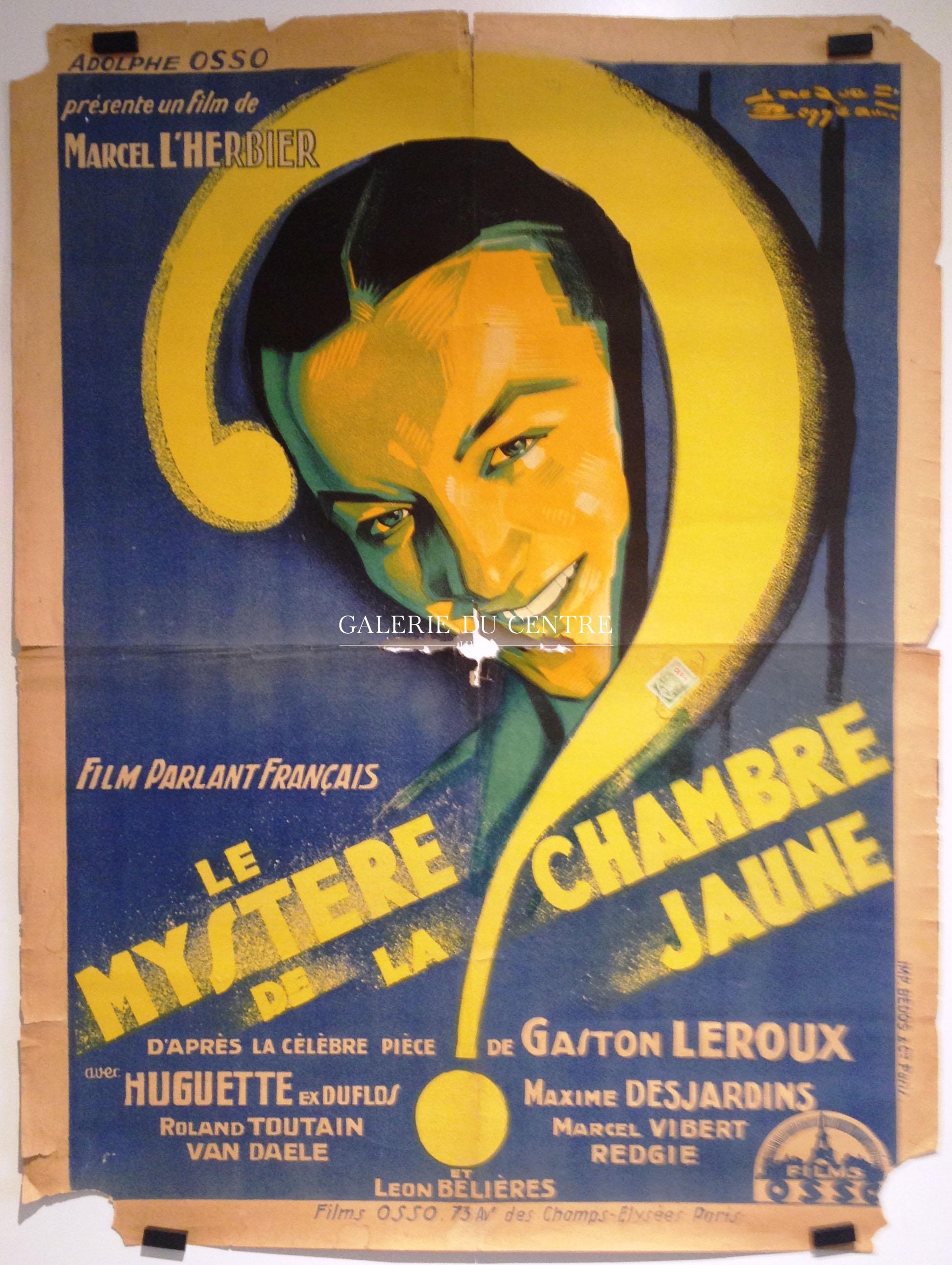 Cinéma Le myst¨re de la chambre jaune